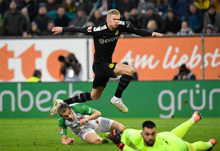 Haaland ghi hattrick giúp Dortmund thắng ngược - ảnh 1