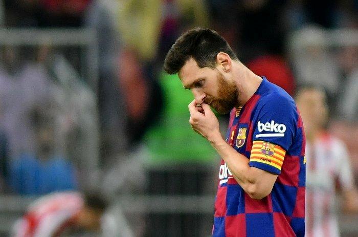 Messi ghi 14 bàn từ đầu mùa. Ảnh: Reuters.