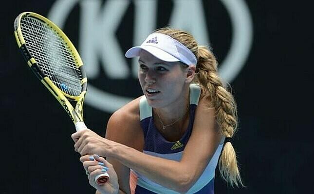 Wozniacki chấm dứt 15 thi đấu trên WTA Tour. Ảnh: AP.