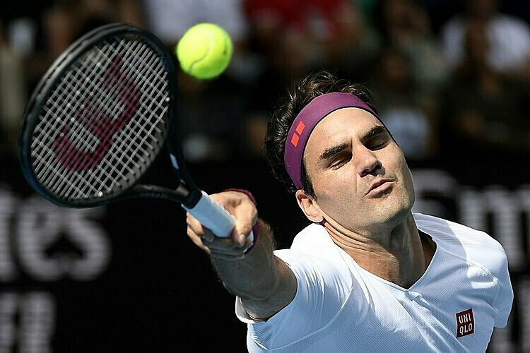 Federer chơi nắn nót ở những thời khắc quyết định để vượt khó. Ảnh: AP.