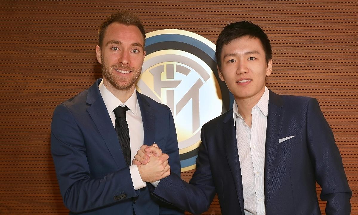 Eriksen gia nhập Inter