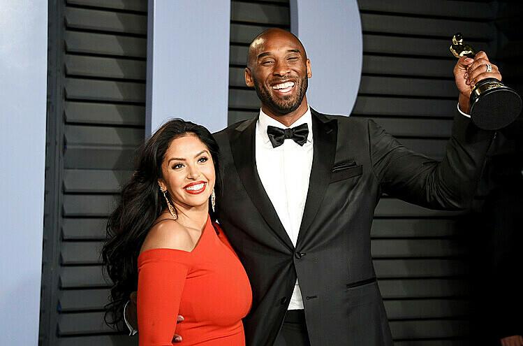Kobe và vợ gặp nhau lần đầu năm 1999. Ảnh: AP.
