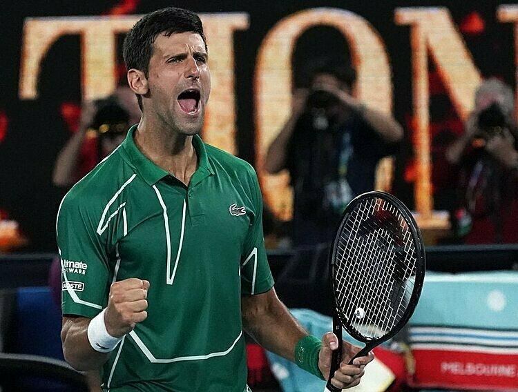 Djokovic thắng 11 trong 17 lần gặp Federer ở Grand Slam. Ảnh: AP.
