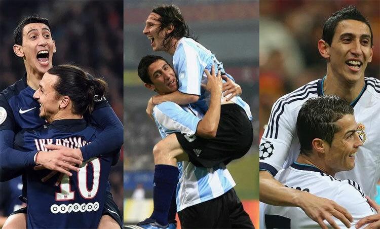 Soikeoinfo tin: Di Maria: 'Messi hay hơn Ronaldo, Rooney, Ibrahimovic'
