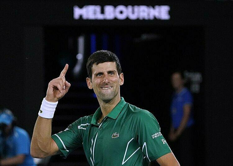 Djokovic từng 25 lần vào chung kết Grand Slam, thắng 16 và thua 9. Ảnh: AP.