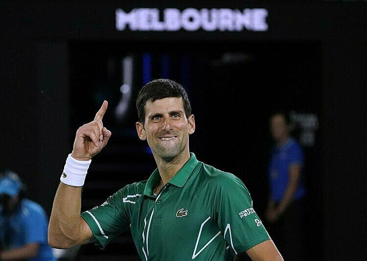 Djokovic được mệnh danh là Vua của Australia Mở rộng. Ảnh: AP.