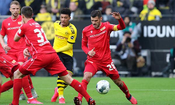 Sancho cùng Haaland đang giúp Dortmund lấy lại độ cao ở Bundesliga, sau một thời gian sa sút. Ảnh: BVB.