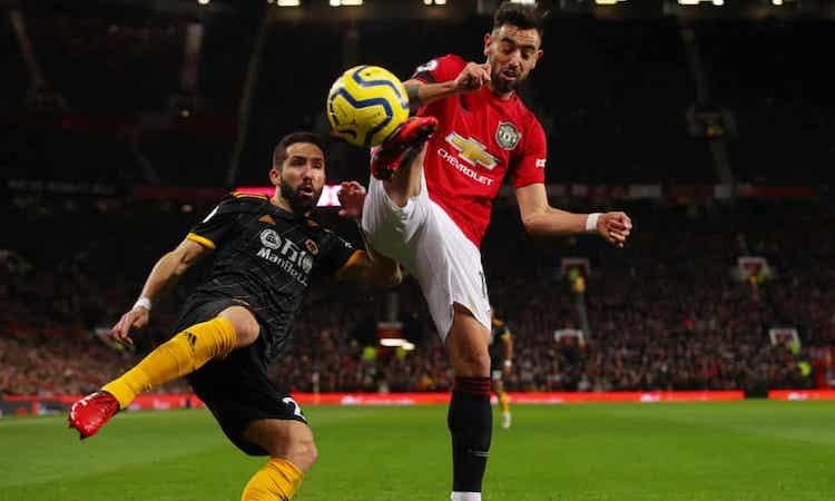 Fernandes ra mắt khá ấn tượng nhưng không thể giúp Man Utd chiến thắng. Ảnh: AAA.