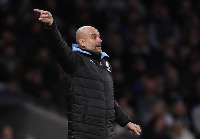 Champions League có thể là cứu cánh giúp Guardiola và Man City tránh khỏi một mùa giải thất bại. Ảnh: Reuters.