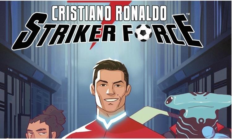 Tạo hình của Ronaldo trong bộ truyện tranh Striker Force 7