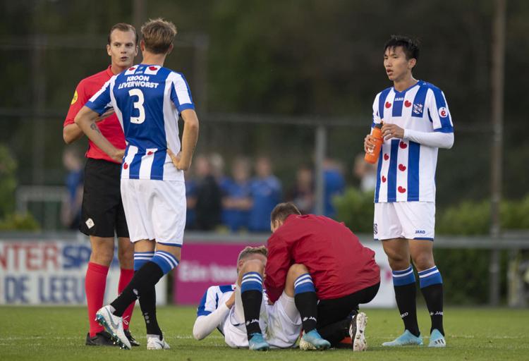 Văn Hậu luôn cố gắng chứng tỏ bản thân mỗi lần có cơ hội được thi đấu ở Heerenveen.