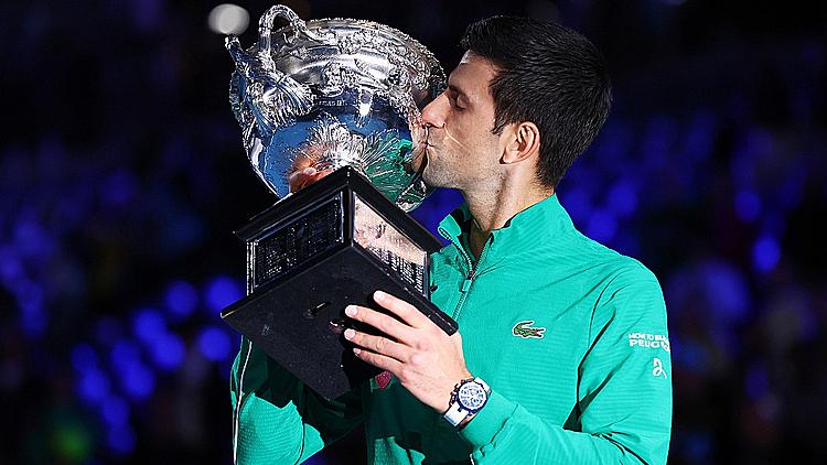 Djokovic giành 16 Grand Slam trong 10 năm gần nhất. Ảnh: AP.