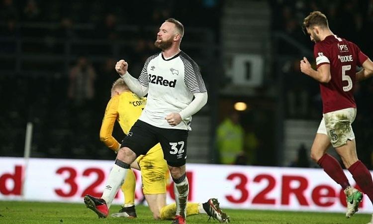 Rooney có thể ra sân và chống lại Man Utd ở vòng 5 Cup FA. Ảnh: AFP.