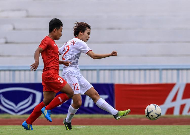 Việt Nam đánh bại Myanmar 4-0 trong lần gần nhất đụng nhau tại AFF Cup 2019.
