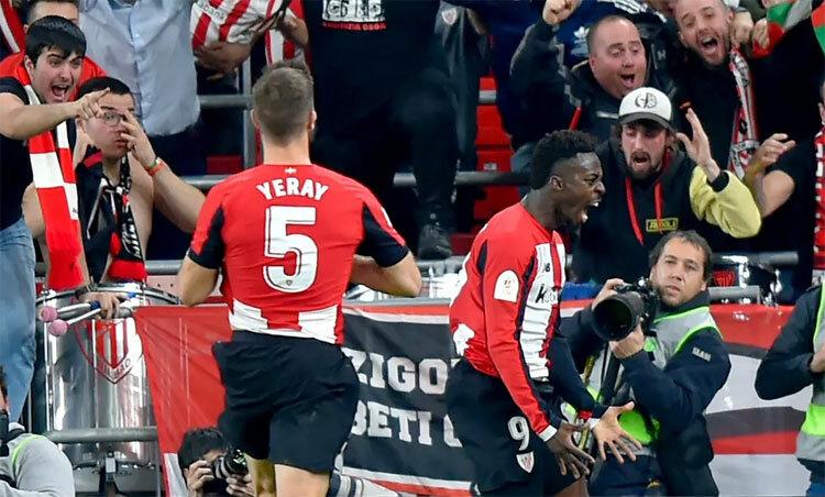 Williams trở thành người hùng của CĐV Bilbao.