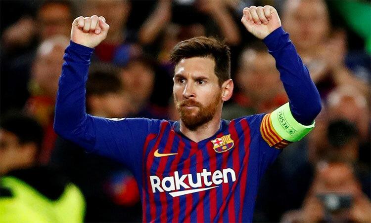 Messi có thể tự do ra đi nếu muốn. Ảnh: Reuters