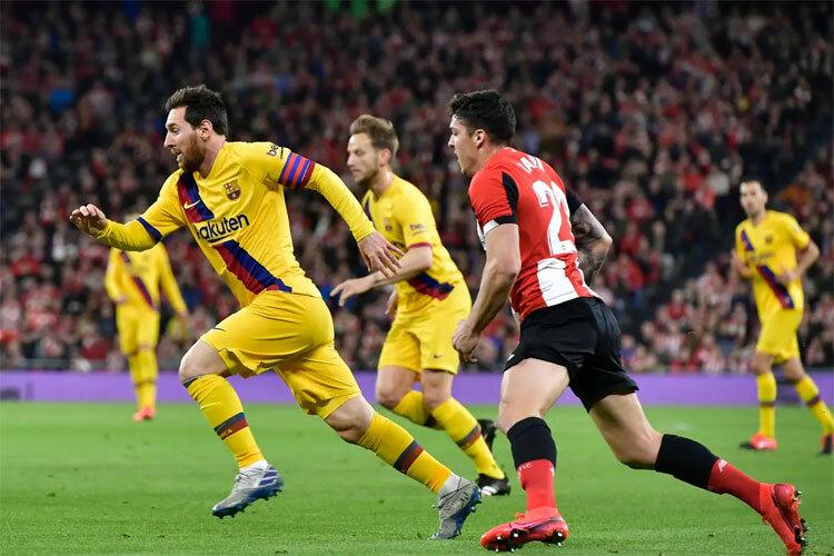Bilbao cho cầu thủ kèm sát Messi.