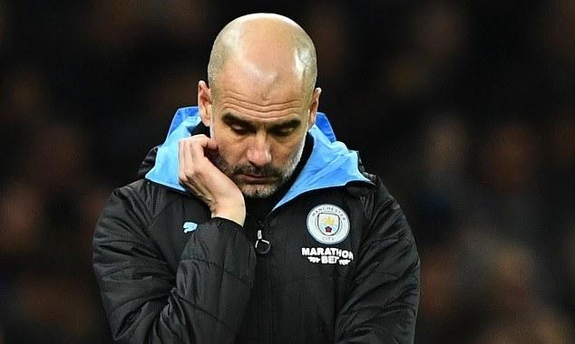Guardiola đau đầu với lịch đá lại ở cuối mùa của Man City. Ảnh: BPI.