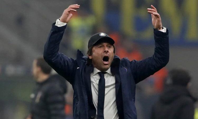 Conte thành công trong việc duy trì mạch thắng. Ảnh: AP.