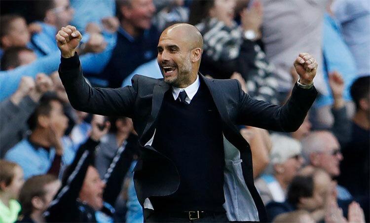 Guardiola là HLV sáng tạo bậc nhất hiện nay. Ảnh: Reuters.