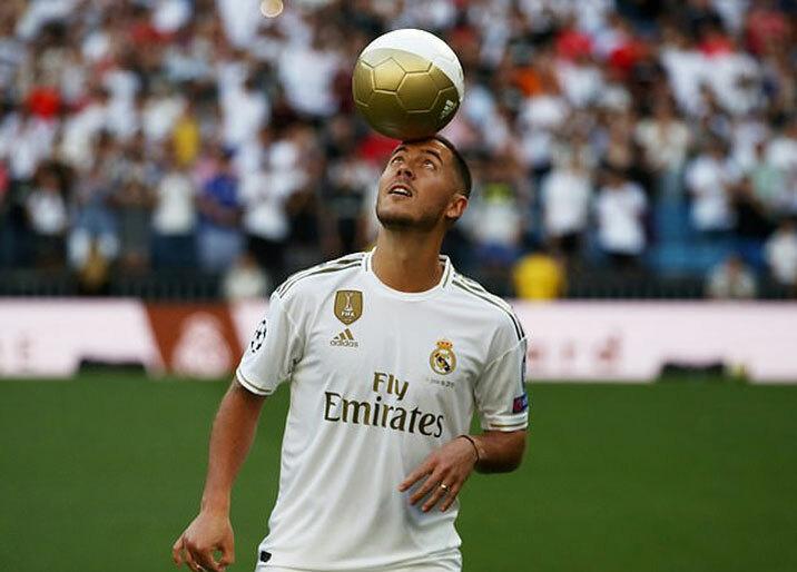 Hazard và những cầu thủ đắt giá khiến Real thâm hụt nặng.