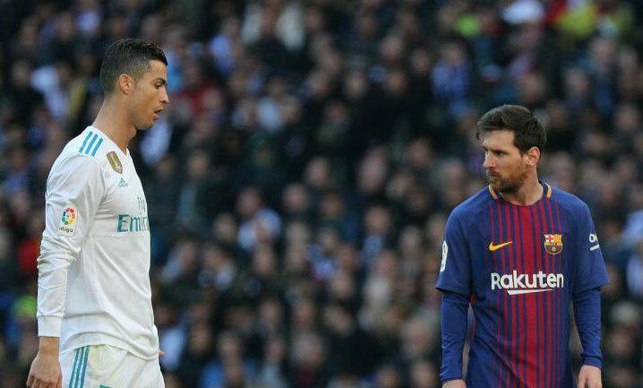 Messi, Ronaldo thi đấu chung một đội vẫn là điều không tưởng. Ảnh: Reuters.