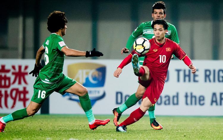 Việt Nam từng đánh bại Iraq tại giải U23 châu Á năm 2018.