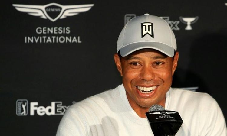 Woods tỏ ý không phản đối ý tưởng tổ chức PGL. Ảnh: AFP.