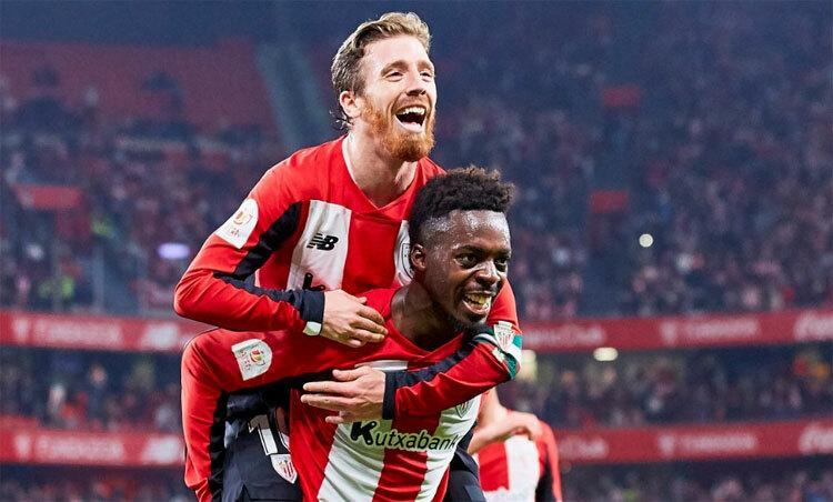 Muniain mang lại lợi thế nhỏ cho Bilbao. Ảnh:Marca.