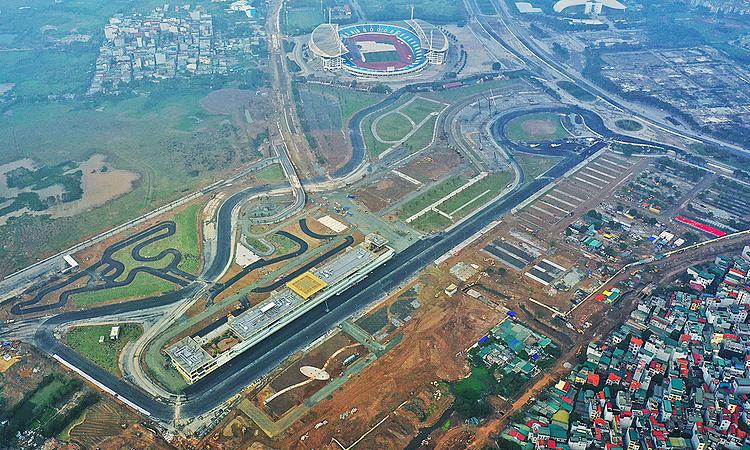 Chặng đua F1 Việt Nam chưa có dấu hiệu sẽ bị hoãn vì Covid-19. Ảnh: Ngọc Thành.