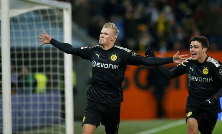 Hoffenheim lỡ cơ hội có được Haaland với giá rẻ. Ảnh: Reuters.