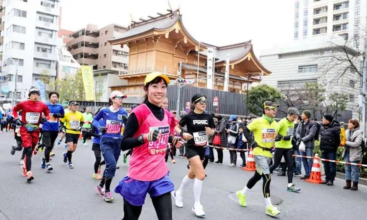 Runner được khuyến cáo nên cân nhắc kỹ lưỡng quyết định dự Tokyo Marathon 2020. Ảnh: Kyodo News.
