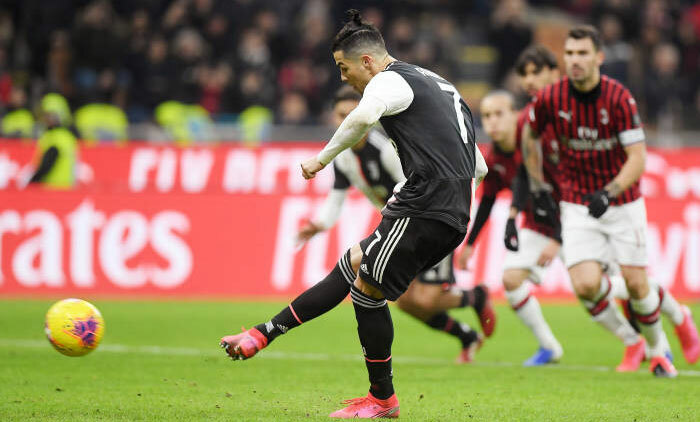 Ronaldo nối dài chuỗi bàn thắng.