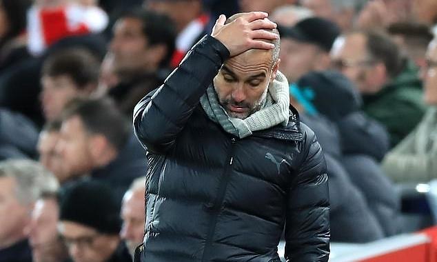 Sự nghiệp của Guardiola tại Man City được dự báo kết thúc. Ảnh: PA.