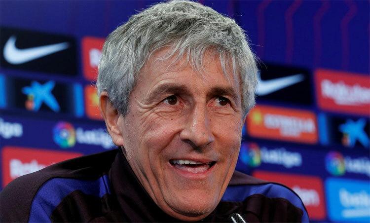 Setien: Barca không kém Real về cơ hội vô địch - ảnh 1