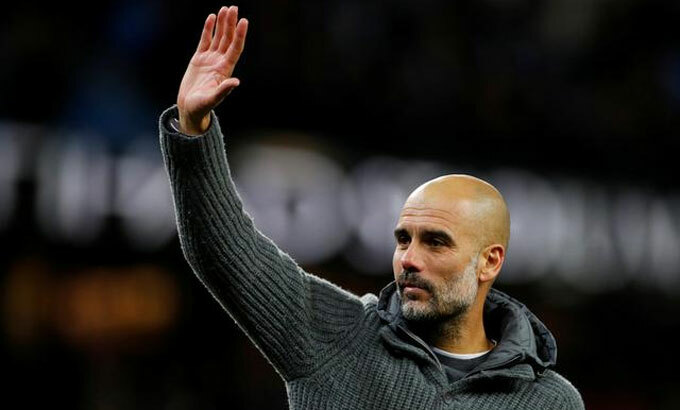 Guardiola là một biểu tượng của Ngoại hạng Anh. Ảnh: Reuters.
