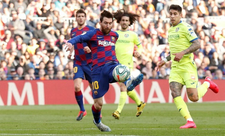Messi cần lấy lại cảm giác ghi bàn trong thời gian tới. Ảnh: Reuters.