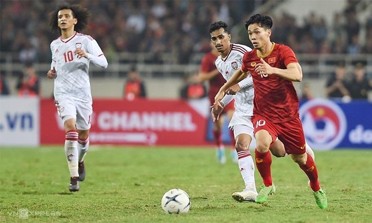 Việt Nam đá giao hữu với Kyrgyzstan