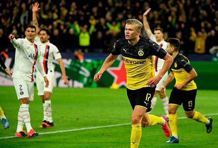 Haaland giúp Dortmund hạ PSG - ảnh 1