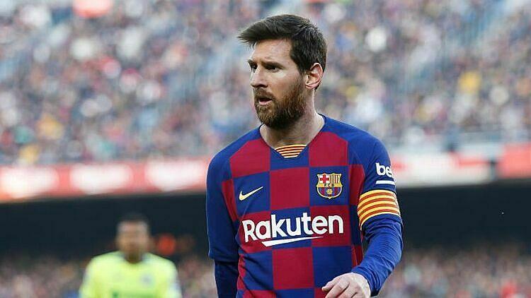 Messi thận trọng khi nói về khả năng vô địch Champions League của Barca. Ảnh: Yahoo.