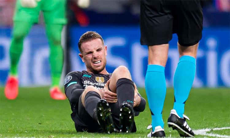 Liverpool vắng Henderson trong ba tuần - ảnh 1