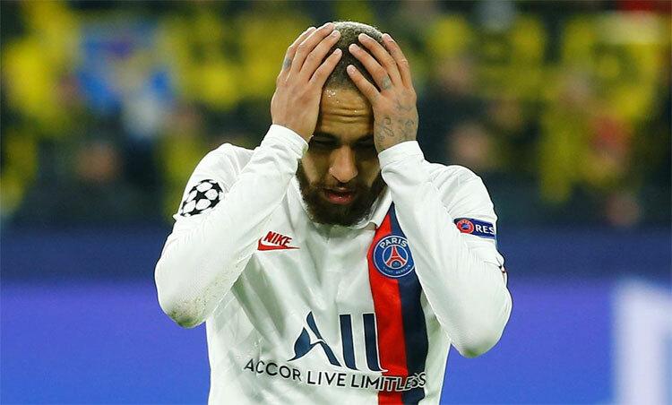 Neymar không còn là chính mình sau khi rời Barca. Ảnh: Reuters.