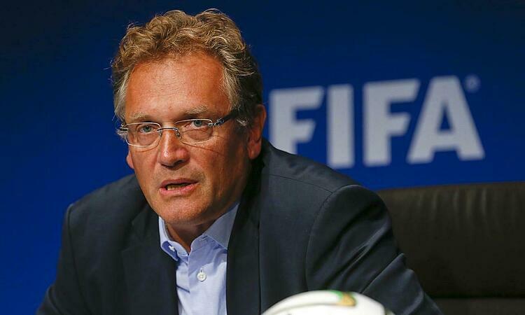 Jerome Valcke làm Tổng thư ký FIFA từ tháng 6/2007 đến tháng 9/2015. Ảnh: Reuters.