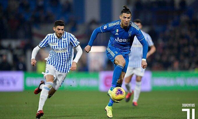 Ronaldo san bằng kỷ lục Serie A - ảnh 1