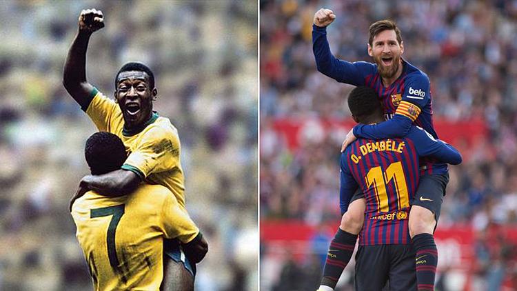 Messi đang có cơ hội vượt qua Vua bóng đá thế kỷ 20 Pele.