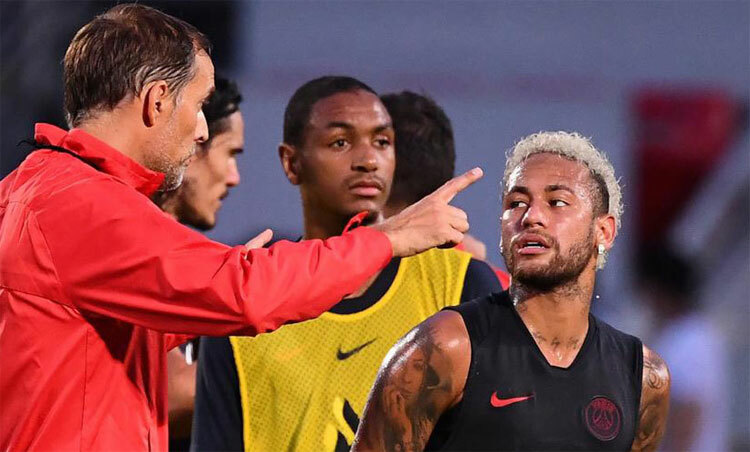 Neymar một lần từ chối tập trong tháng Hai - ảnh 1