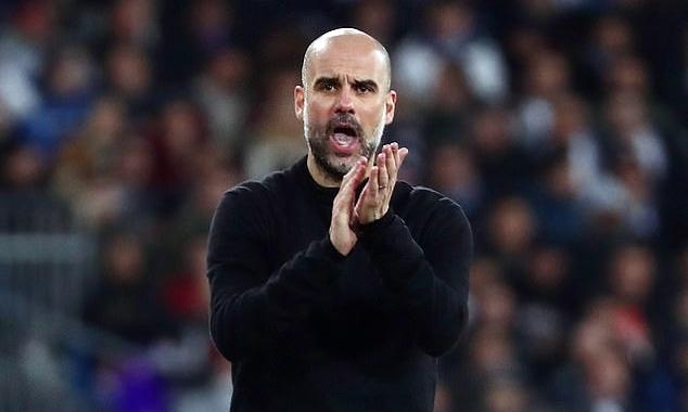 Guardiola quyết tâm phá dớp tứ kết ở Champions League mùa này. Ảnh: Reuters.
