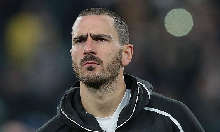 Bonucci cho rằng Juventus gặp vấn đề về tâm lý trong trận thua Lyon. Ảnh: AFP.