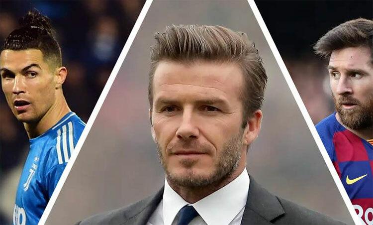 Ronaldo và Messi có thể tới Mỹ theo sự kêu gọi của Beckham. Ảnh: BR.