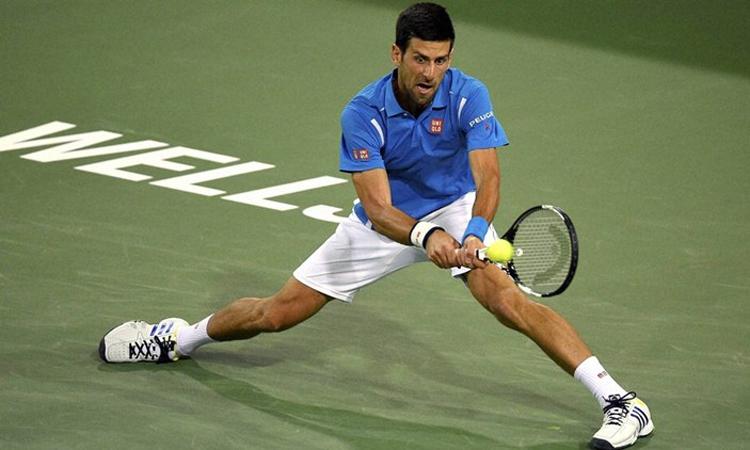Indian Wells 2020, diễn ra từ 12/3 đến 22/3, là cơ hội để Djokovic bổ sung thêm một danh hiệu lớn nữa vào bộ sưu tập thành tích. Ảnh: AP.